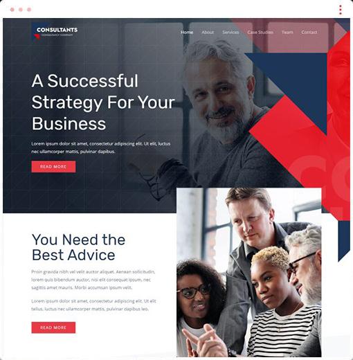 Consultant Firms Web Design Company