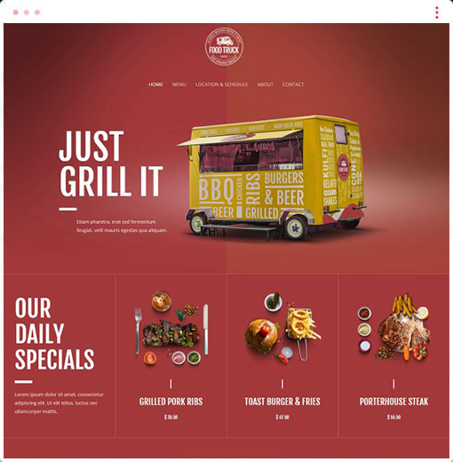 Food Truck Web Design Company