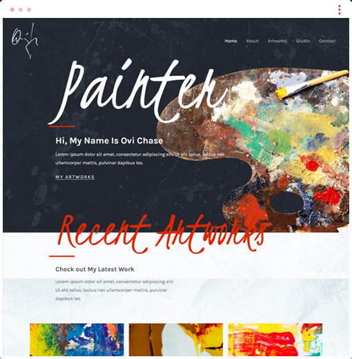 Painter Web Design Company