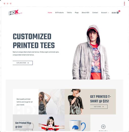 Custom Printing Web Design Company